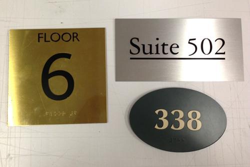 Floor&Apt# Signs